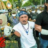 Massenproteste gegen thailändische Regierung