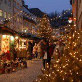 Weihnachtsstimmung in der Marktgasse