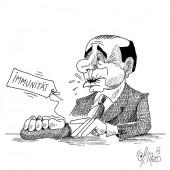 Berlusconi – ohne Biss!