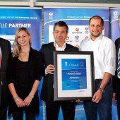 Sportservice Vorarlberg bis 2016 als Olympiazentrum zertifiziert