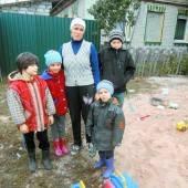 Unterstützung für Kinder von Gomel