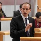 Egger im Rechtsausschuss Thema