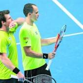 Niederlage von Peya und Soares in Runde eins