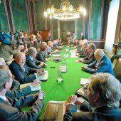 Vor Großer Koalition der kleinen Schritte