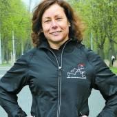 Freundin des Laufsports