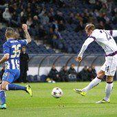 Austria erkämpfte 1:1 in Porto