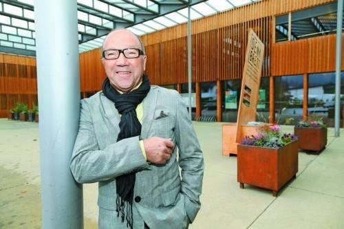 Paul Ammann fühlt sich wohl als Pensionist. Foto: VN/Hofmeister