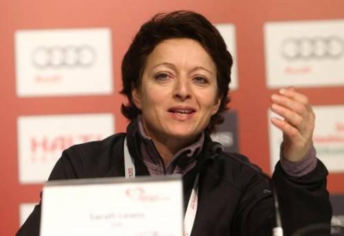 Resolution gegen die FIFA: FIS-Generalsekretärin Sarah Lewis. Foto: gepa