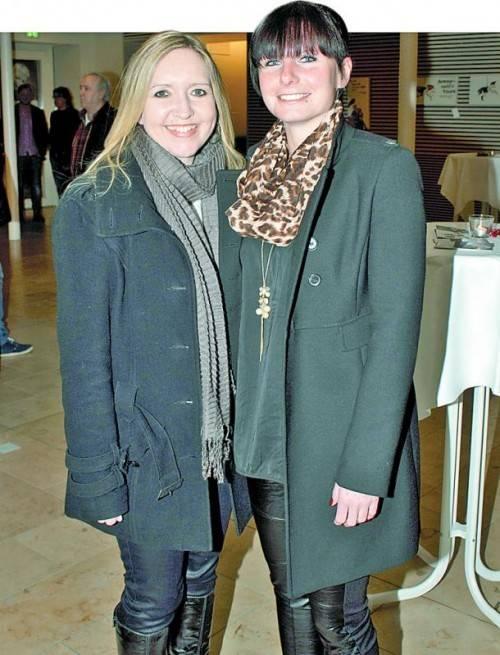 Tanja Hofmann (l.) und Nadja Burtscher. Fotos: Franc