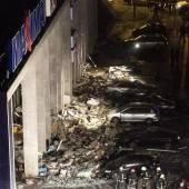 Vier Tote nach Einsturz in Riga