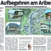 Aufbegehren am Arlberg