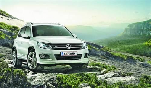 VW Tiguan: Volkswagens Argument im Segment der Kompakt-SUVs gibt's sowohl mit Front- als auch mit 4x4-Antrieb, genannt 4Motion.