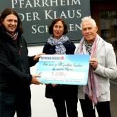 Kirchenchor spendet 1200 Euro für Familien in Not