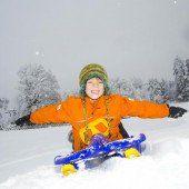 Der Winter hält Einkehr in Vorarlberg