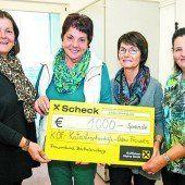 ÖVP-Frauen spenden 1000 Euro für Familie