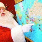 Der Weihnachtsmann bricht mehrere Rekorde