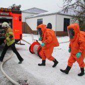 Lindau: Feuer in der Kläranlage