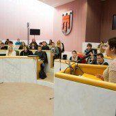 Vorarlberger Schüler übernehmen Landtag