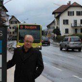 Neue Buslinie und Haltestelle in Lauterach