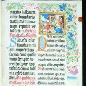 Frohe Botschaft in prächtigen Buchmalereien