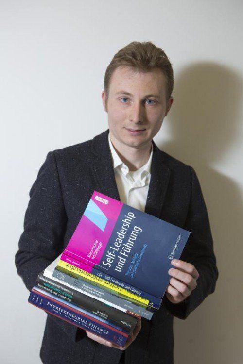 Betriebsleiter, Master-Student, China-Fan: Martin Selb aus Feldkirch.  Foto: VN/ Hartinger
