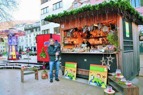 Biobauern sorgen beim heurigen Bregenzer Weihnachtszauber für Bio-Vielfalt. Foto: Bio Austria
