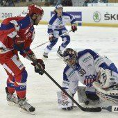 CSKA gewann knapp, Davos mit Kantersieg