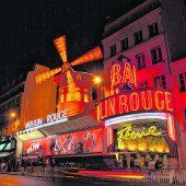Grandiose Show im Moulin Rouge