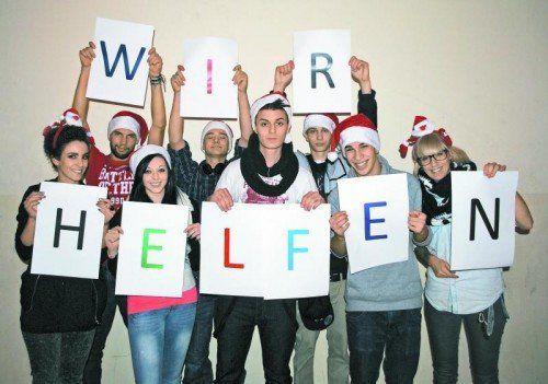 Das Charity-Team der OJA Feldkirch.