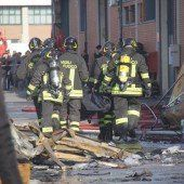 Tote bei Feuer in Fabrik in Prato