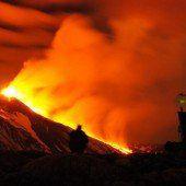 Vulkan Ätna weiter aktiv