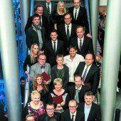 Russmedia ehrte zum Jahresende Mitarbeiter