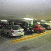 Parkplätze in Illpark-Garage bald benutzbar