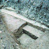 Eine Treppe ins römische Bregenz