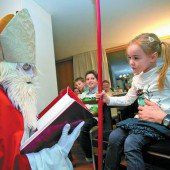 Heute kommt der Nikolaus Funkelnde Kinderaugen garantiert /A12