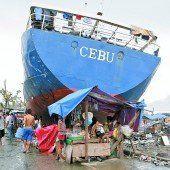 Taifun Haiyan Die Soforthilfe wird erhöht /D6