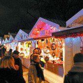 Weihnachtsmärkte in der ganzen Stadt