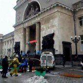 Vor Olympia: Anschlag erschüttert Russland
