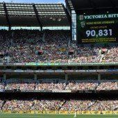 Weltrekord bei einem Cricket-Match