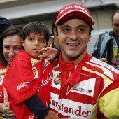 Felipe Massa ging nicht mit leeren Händen