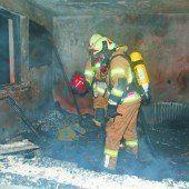 Wohnung in Frastanz komplett ausgebrannt