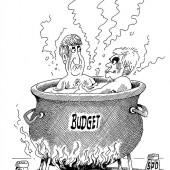 … am Weichkochen!
