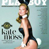 Kate Moss als Playboy Bunny