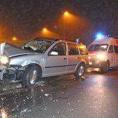 Unfall vor Citytunnel