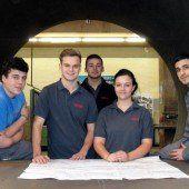 Fünf neue Jungfacharbeiter