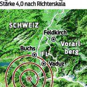 Beben auch in Vorarlberg