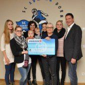 Admira-Kicker spenden 4000 Euro