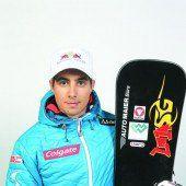 Mathies Dritter Alpinboarder mit tollem Auftakt /C4