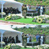 Mandela im kleinen Kreis beigesetzt