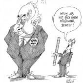 Beamten-Gehalts-Verhandlungen!
